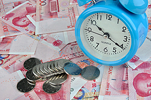 Time Is Money Royalty Free Stock Photos - Image: 14457708