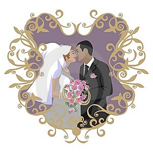 Wedding Couple 09 Stock Photos - Image: 14457803