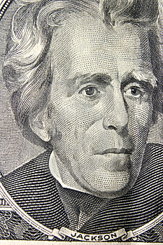 President Andrew Jackson Portrait Stock Photo - Image: 14457890