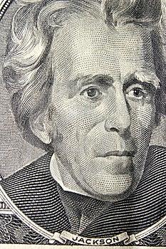 President Andrew Jackson Portrait Stock Photo - Image: 14457890