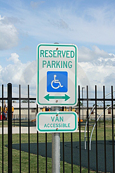 Handicapped Parking Royalty Free Stock Photo - Image: 14458065