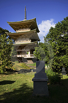 Japanese Garden & Cemetery, Oahu, Hawaiian Islands Stock Photography - Image: 14458072