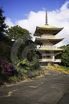 Japanese Garden & Cemetery, Oahu, Hawaiian Islands Stock Photography - Image: 14458082