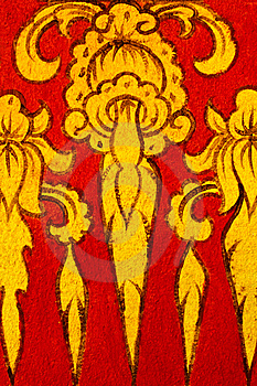 Thai Painting Design Stock Photography - Image: 14459452