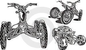 ATV Riders 16. Royalty Free Stock Photos - Image: 14459688