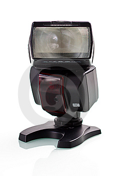 External Digital Flash Isolated Stock Image - Image: 14460051