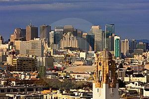 San Francisco Cityscape Stock Photo - Image: 14460710