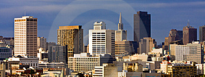 San Francisco Cityscape Panorama Royalty Free Stock Photography - Image: 14460717