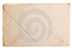Vintage Yellowed Envelope Royalty Free Stock Images - Image: 14463629