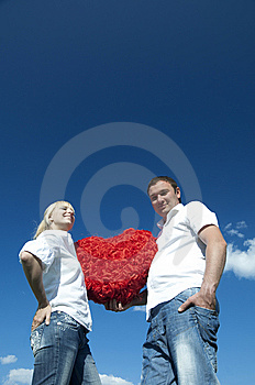 Heart In Hands Stock Photography - Image: 14465622
