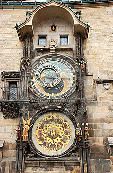 Prague Clock Royalty Free Stock Photos - Image: 14467308
