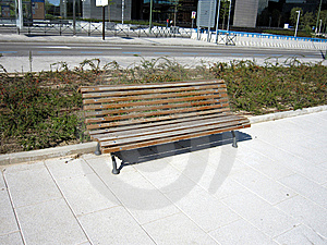 Wooden Bench Royalty Free Stock Image - Image: 14467416