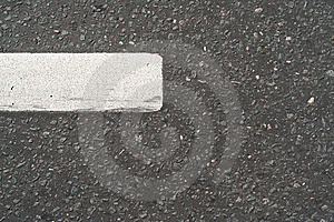 The Road To The Road Markings Royalty Free Stock Images - Image: 14467459