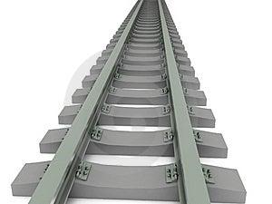 Decreasing Railway Stock Photo - Image: 14468370