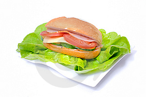 Big And Tasty Sandwich Royalty Free Stock Photo - Image: 14468705