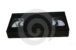 The Black Old Cartridge For The Videorecorder Royalty Free Stock Images - Image: 14470789