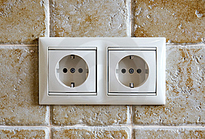 Two Sockets Stock Images - Image: 14470884