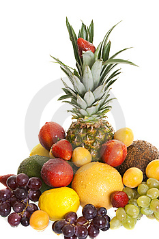 Various Types Of Fresh Fruit Royalty Free Stock Photography - Image: 14471497