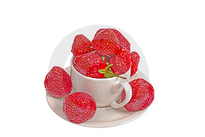 Strawberry In Cup Stock Image - Image: 14473501