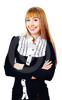 Young Businesswoman Royalty Free Stock Photos - Image: 14474368