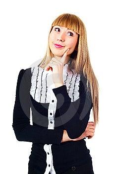 Thoughtful Businesswoman Royalty Free Stock Photo - Image: 14474405