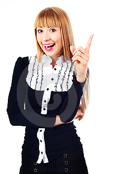 Young Businesswoman Stock Photo - Image: 14474580