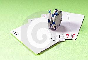 Four Of A Kind Royalty Free Stock Images - Image: 14474979