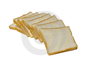 Breads In A Curve Line Royalty Free Stock Images - Image: 14477779