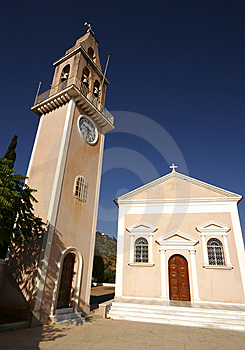 Greek Chapel, Kefalonia Stock Images - Image: 14478214