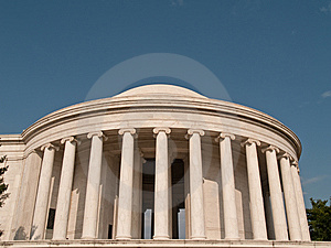 The Thomas Jefferson Memorial Royalty Free Stock Image - Image: 14481046
