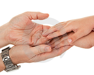 χέρια S παιδιών ενηλίκων Στοκ Φωτογραφία - εικόνα: 14481612