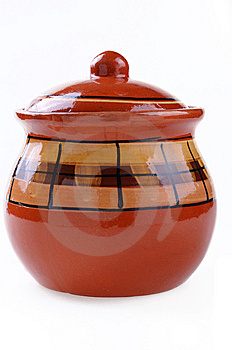 Ceramic Pattern Pot Stock Photos - Image: 14482073