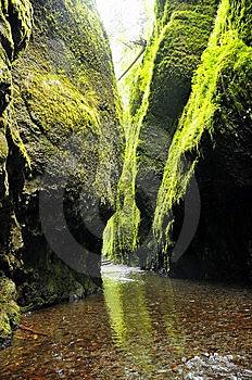 Oneonta River Gorge Stock Photos - Image: 14482103
