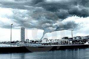 Tornado incoming Royalty Free Stock Images
