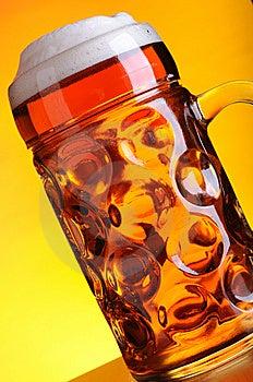 Mug Of Cold Beer Stock Photos - Image: 14482613
