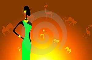 Africans Motifs Royalty Free Stock Photography - Image: 14483337