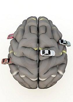 Car Brain Royalty Free Stock Photos - Image: 14483578