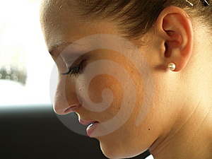 Thoughtful Girl Royalty Free Stock Photo - Image: 14483615