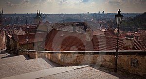 Panorama Of Prague Stock Photo - Image: 14485540