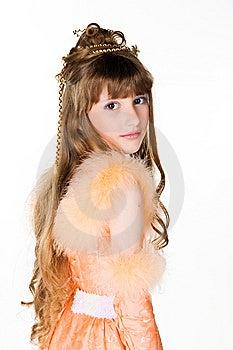 Cute Little  Princess Stock Photos - Image: 14486013