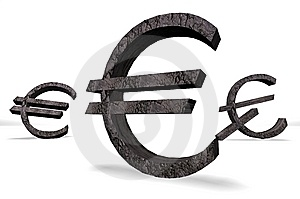The European Dollar Sign Royalty Free Stock Photo - Image: 14486195