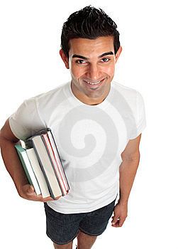 Happy Male Student Royalty Free Stock Images - Image: 14487459