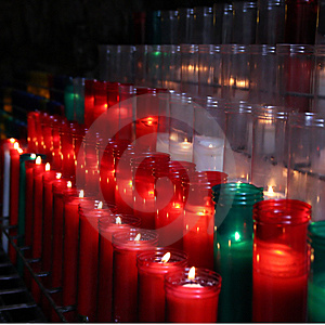 Candles. Stock Photos - Image: 14487553