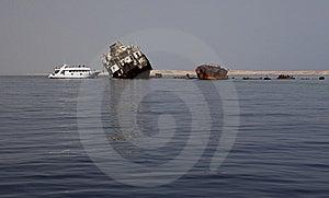 Sunken Russian Ship. Stock Photos - Image: 14490173