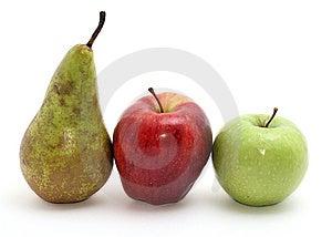 Three Fruits Royalty Free Stock Photo - Image: 14490725