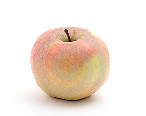 Single Apple Royalty Free Stock Photo - Image: 14490745