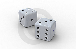 Two Dices Stock Photography - Image: 14492082
