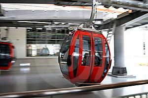 Aerial Tramway Royalty Free Stock Photography - Image: 14492867