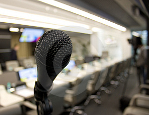 Microphone Royalty Free Stock Photos - Image: 14492868