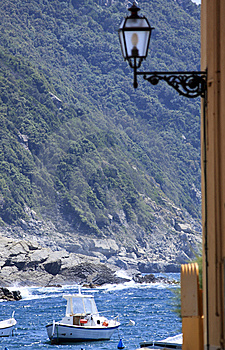 Italian Riviera View Stock Images - Image: 14494184